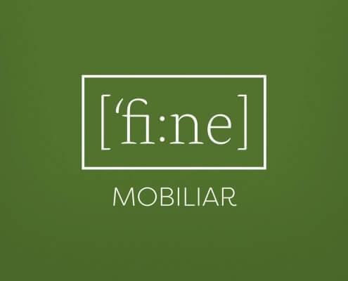 Logodesign für fine Mobiliar