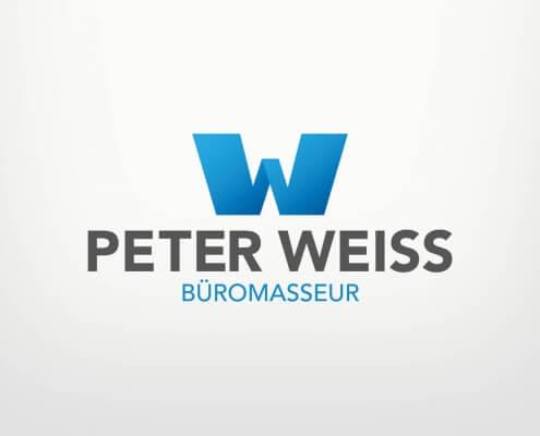 Logodesign für Peter Weiß