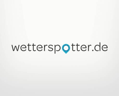 Logodesign für wetterspotter.de