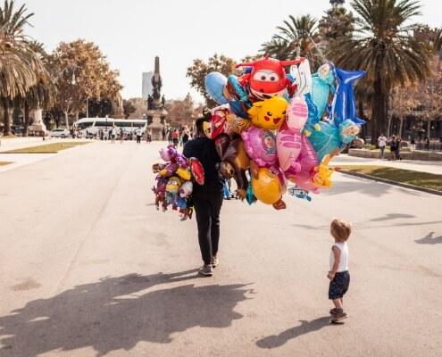 Reisefotografie in die spanische Metropole Barcelona
