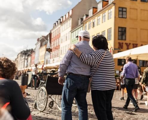 Tages Fototrips durch Copenhagen