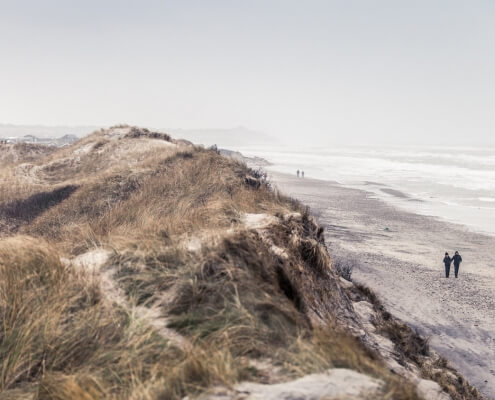 Die Strände und Weiten von Dänemark