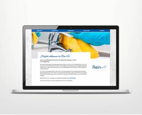 Responsive Webdesign für Gebäudereinigung Achim