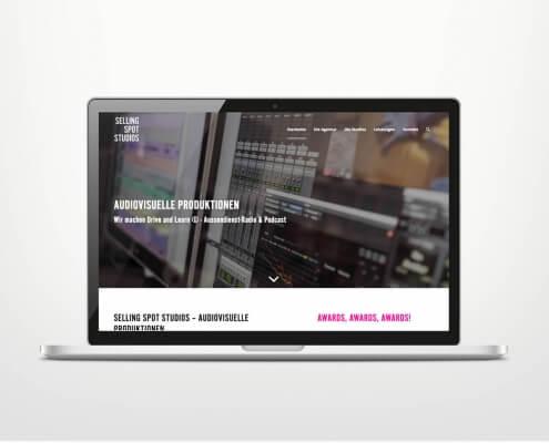 Responsive Webdesign für Tonstudio Bremen