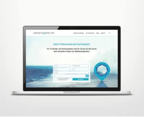 Responsive Webdesign für Wetterplattform