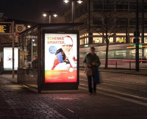 Werbefotografie für eine Kampagne der SWB