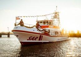 Seenotretter Taufe SK39 Fritz Knack Maasholm